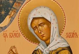 Молитва Святой Матроне Московской
